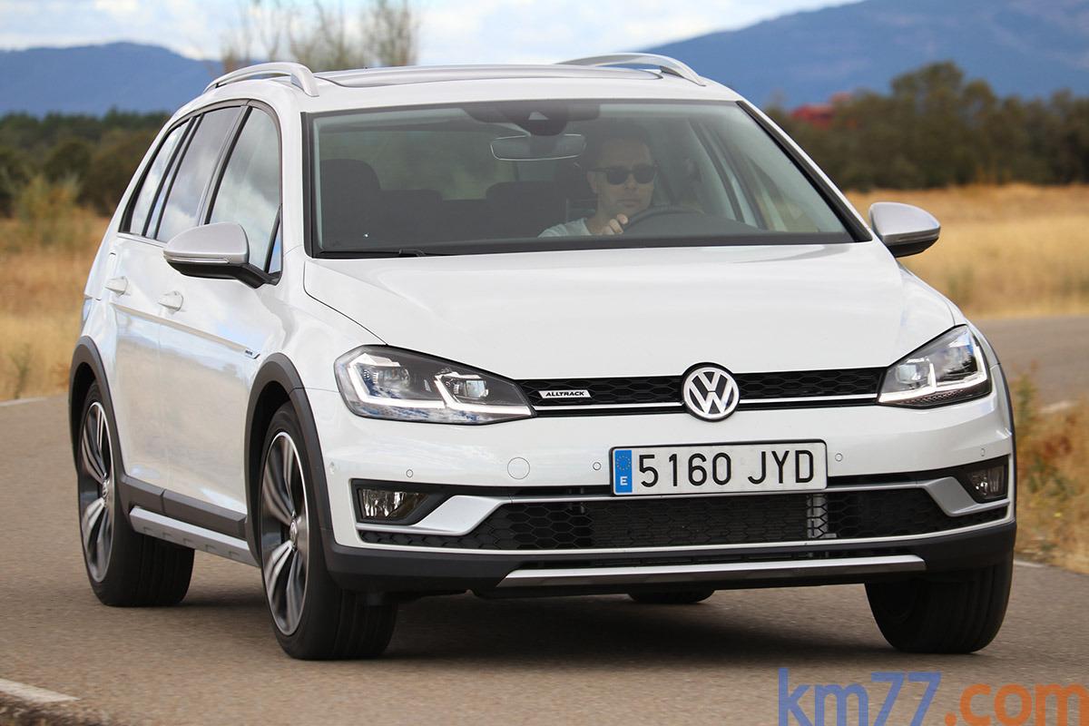 Volkswagen Golf Alltrack 2.0 TDI 184 CV DSG (2017)