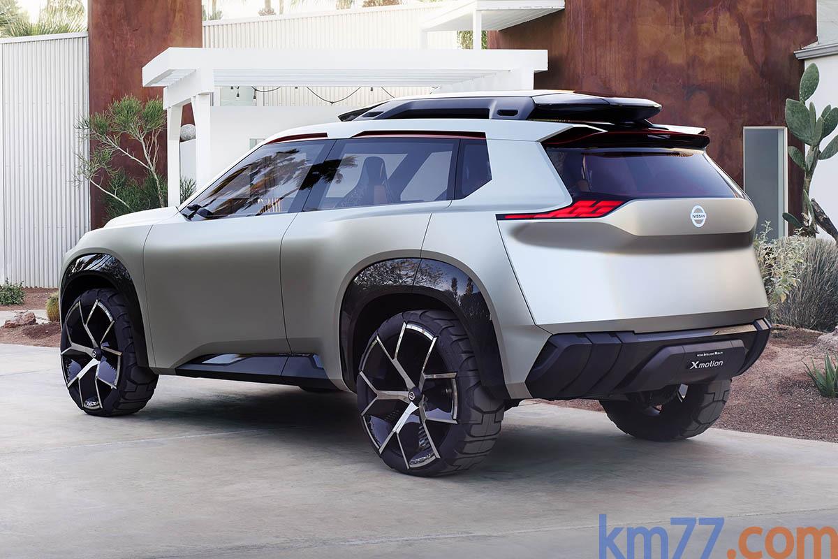 Nissan Xmotion concept (prototipo)