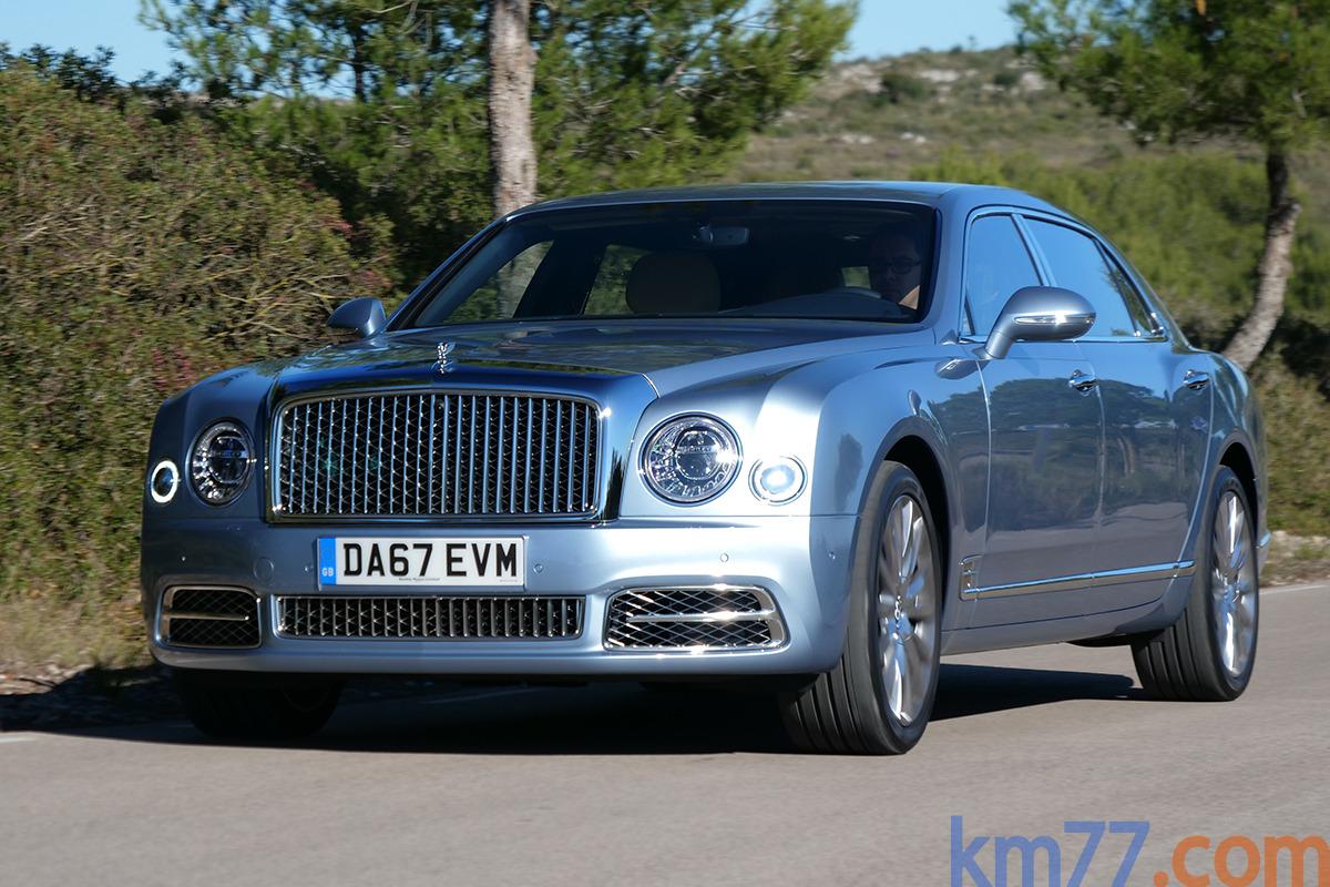 Bentley Mulsanne EWB (2016)