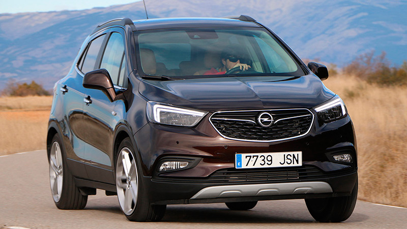 Opel Mokka X 1.6 CDTI 136 CV y 1.4 Turbo 152 CV 2017