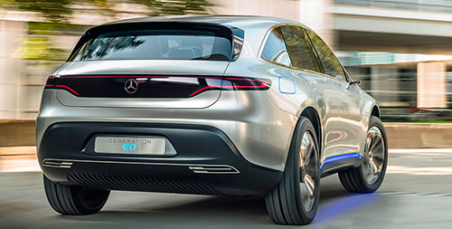 Mercedes-Benz Generation EQ prototipo