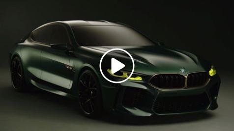 Vídeo del prototipo BMW Concept M8 Gran Coupe, con el que BMW adelanta el diseño del futuro modelo de producción.