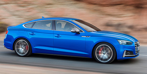 Audi A5 y S5 Sportback 2017