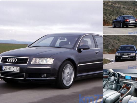 Allá por 2004 probamos el Audi A8 4.0 TDI quattro de 275 CV. De él dijimos que tenía prestaciones, seguridad y calidad al mejor nivel.