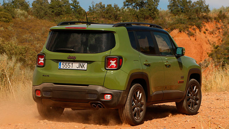 Jeep Renegade 2.0 MultiJet 140 CV 4x4 Aut. 2015
