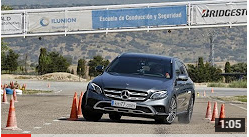 Mercedes Benz Clase E All Terrain 2017 - Maniobra de esquiva (moose test) y eslalon