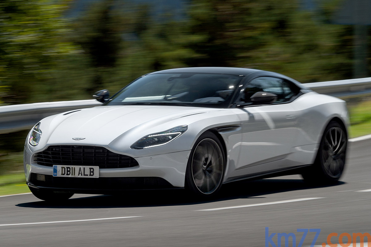 Aston Martin DB11 Coupe (2016)