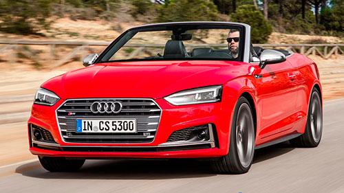 Audi A5 Cabrio y S5 Cabri