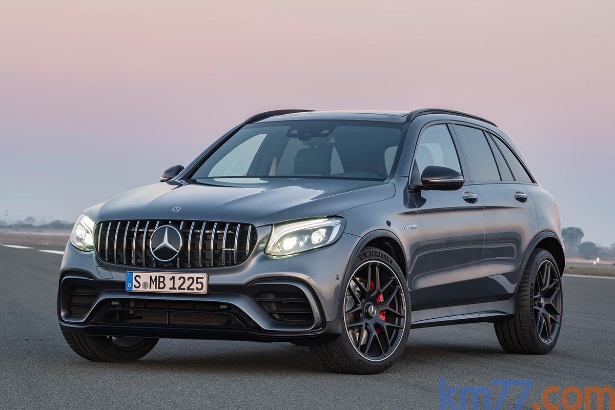 Mercedes-AMG GLC 63 4MATIC+ y GLC 63 S 4MATIC+ (2017)