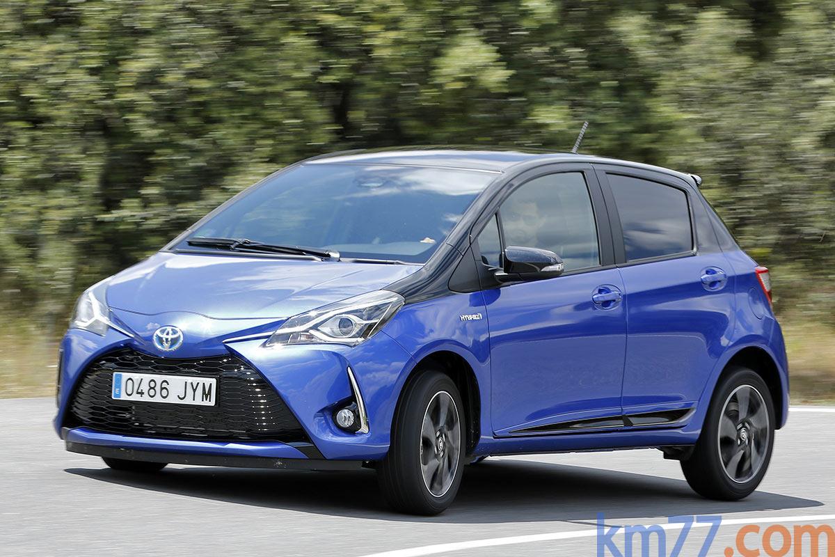 Toyota Yaris 5 puertas 2017