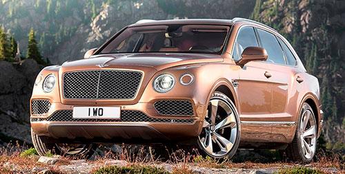 Bentley Bentayga Diesel 2016