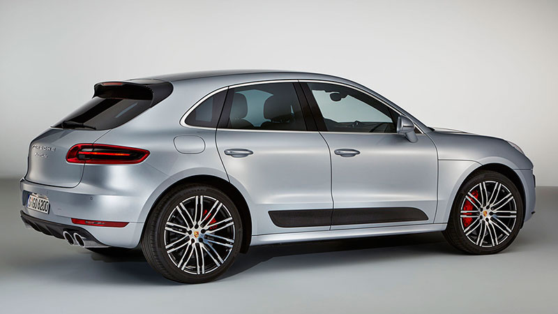 Porsche Macan Turbo Performace Package