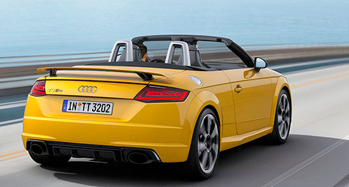 Audi TT RS Coupé y TT RS Roadster 2017