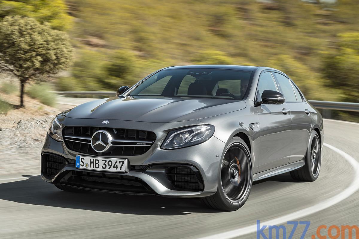 Mercedes-AMG E 43 4MATIC, 63 4MATIC+ y 63 S 4MATIC+ 2017