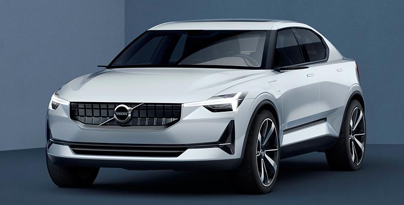 Volvo Concept 40 prototipo 2016