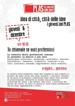Comunicato ANA Toscana - Consulta Toscana sul Lavoro Professionale