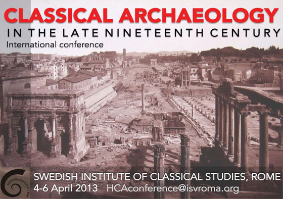 Classical Archaeology in the Late Nineteenth Century (1870-1900)
