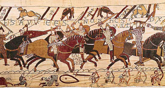 New research on how the Bayeux Tapestry was made
