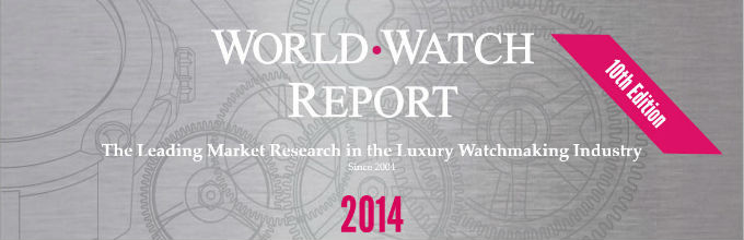 WorldWatchReport - The leading market research in the luxury watch industry. Since 2004.