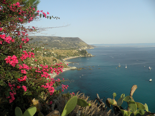 calabria southern italy coastline