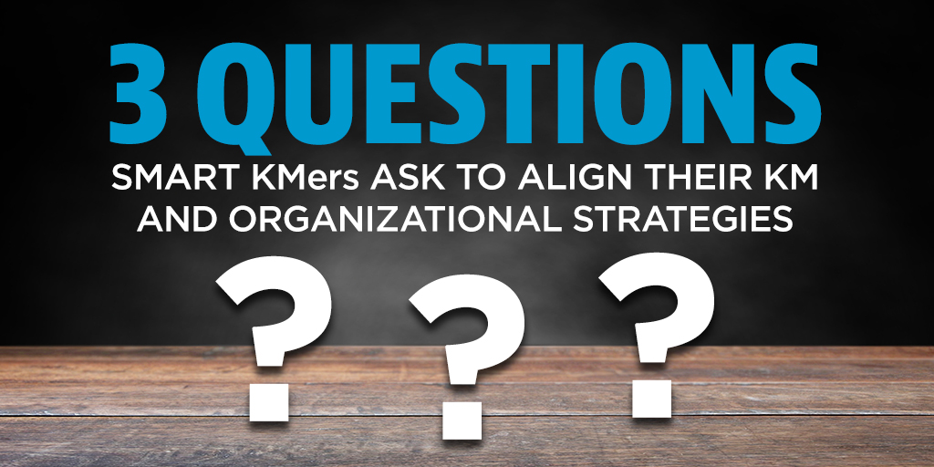 Strategic Planning for Knowledge Management