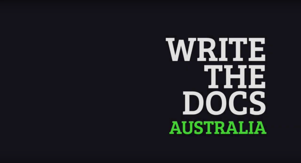 Write the Docs Australia