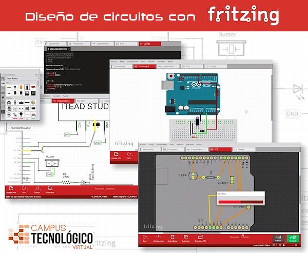 Diseño de circuitos con Fritzing