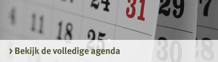 Agenda van de Jagersvereniging