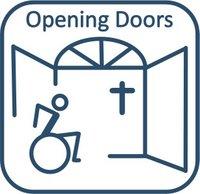 Opening doors icon