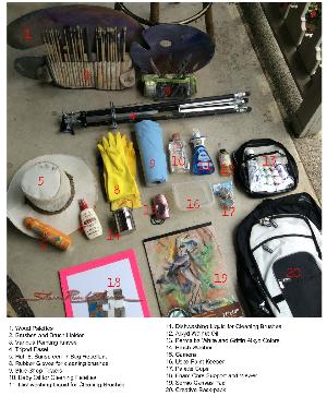 Plein Air Painting Supplies for Travel