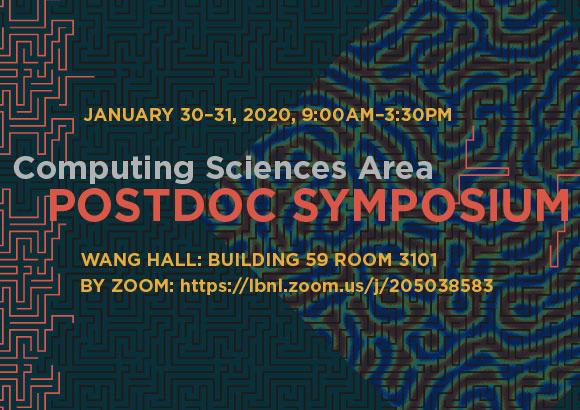 CS Area Postdoc Symposium, January 30-31 9am-3:30pm, Wang Hall, Building 59, room 3101