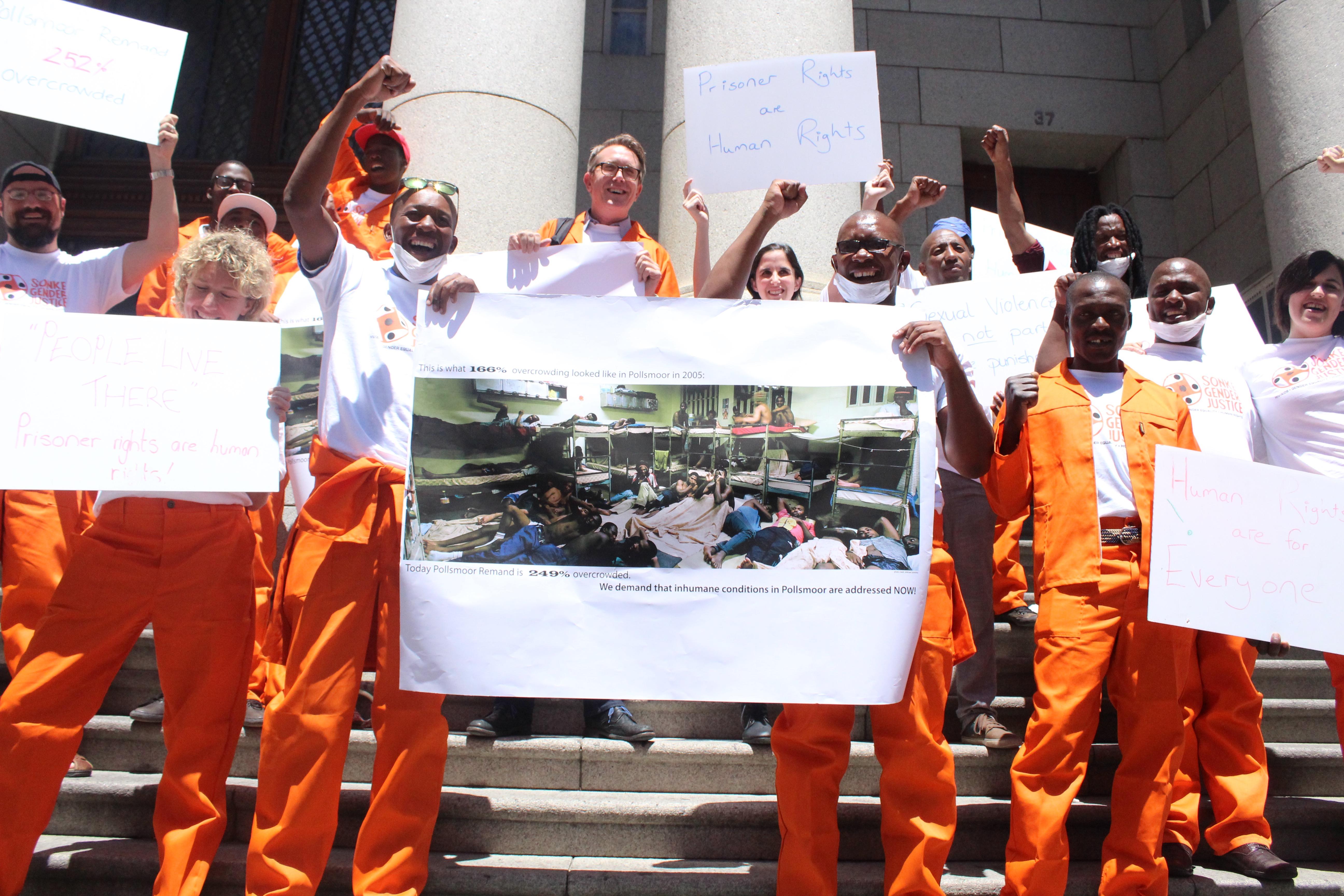 Prisoners Protesting
