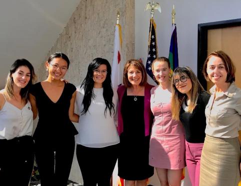 UNA with Congresswoman Susan Davis