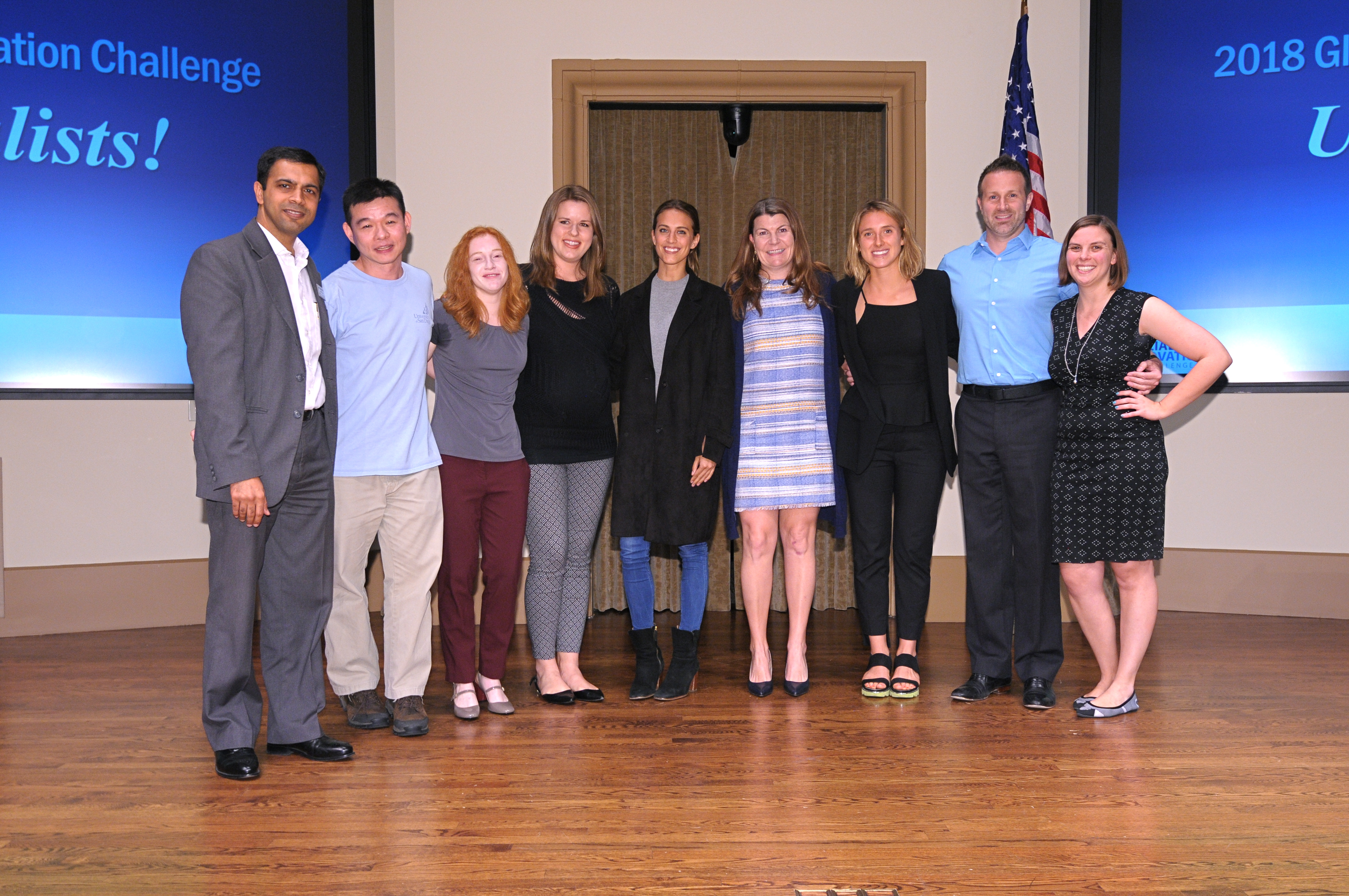 USD Finalist Teams announced at USD Social Innovation Showcase.