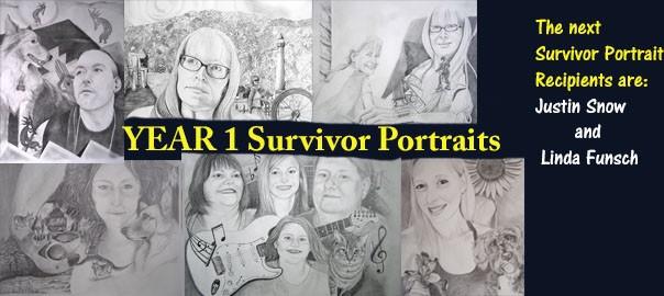 Survivor Portrait Recipients