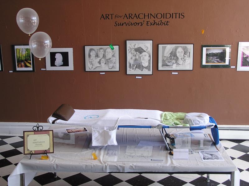 Art For Arachnoiditis Survivors Exhibit Opening Reception