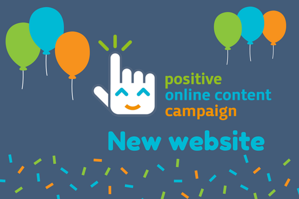 New website positive online content