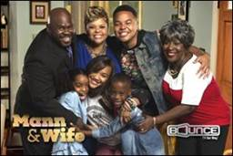 David Mann, Tamela Mann and company are bringing a brand new assortment of hysterical family situations and laughs to television this spring in the all-new second season of the hit Bounce TV comedy series Mann & Wife. New episodes premiere on Bounce TV on Tuesday nights at 9:00 p.m. ET/8:00 p.m. CT.  Visit BounceTV.com for more information or to watch the first season of Mann & Wife.