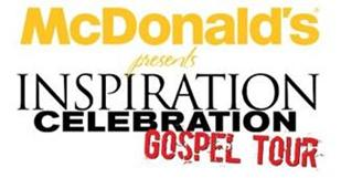 McDonald's Inspiration Celebration Gospel Tour (ICGT) is back and better than ever and features some of gospel music's biggest acts. Gospel music veteran Erica Campbell and comedian Jonathan Slocumb will co-host. Joining them will be Anthony Brown & Group TherAPy, the Mississippi Mass Choir, Uncle Reece, Moses Tyson, Jr. and Kurt Carr & The Kurt Carr Singers. Back for its eighth year, the free summer concert series sets out May 22 and runs through July 25 to deliver messages of hope and inspiration to communities nationwide and supports the Ronald McDonald House Charities (RMHC).