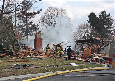 House Explosion in My Neighborhood