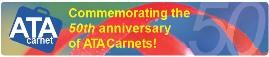 Carnet 50th Anniversary logo
