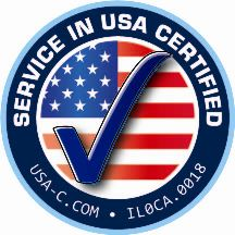 Service In USA Certified Seal