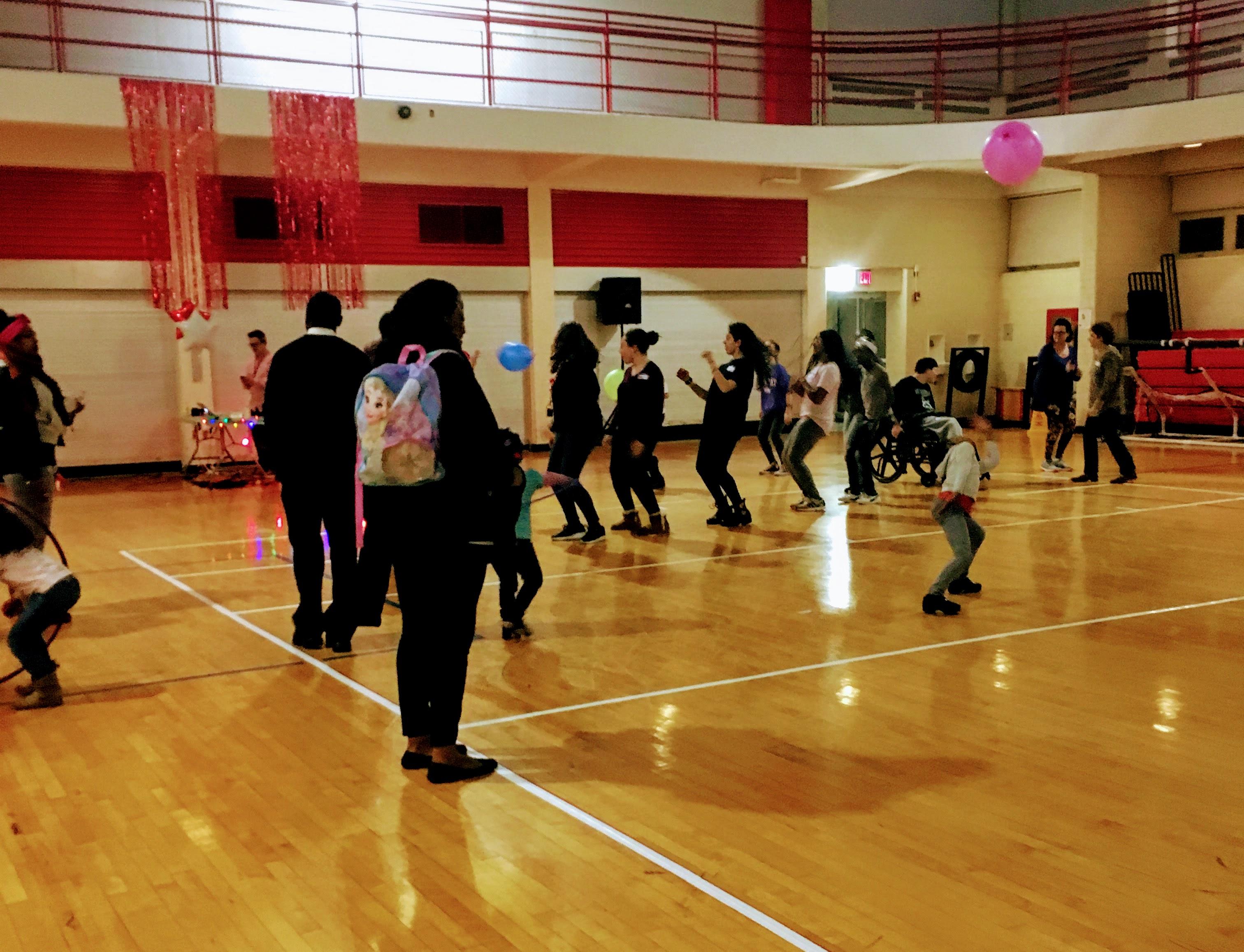 OSB dancers gotta dance!