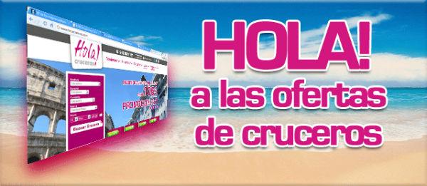Boletín de ofertas HolaCruceros.com