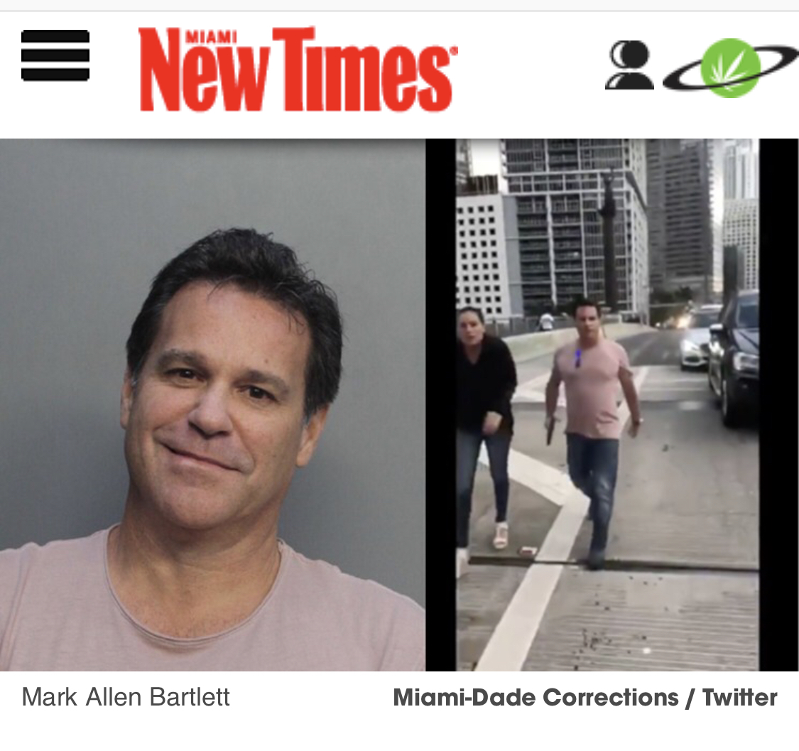 Action, Reaction, Arest - Image from Miami New Times