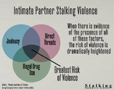 Intimate partner stalking is a form of domestic violence