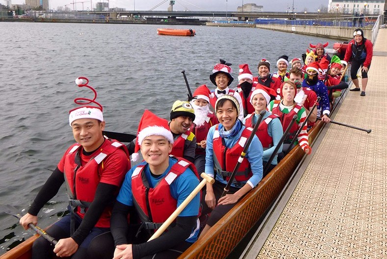 All aboard for the last training session of the year
