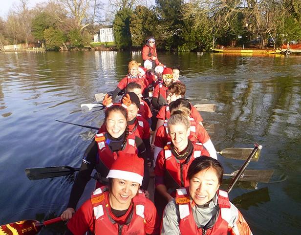 Henley Christmas paddle