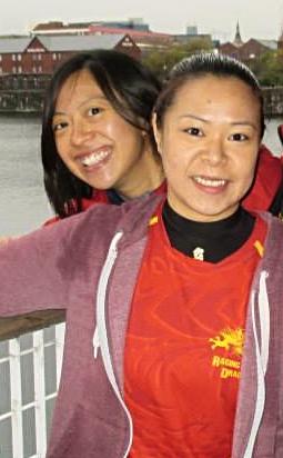 Treasurers Kitty and Jo Tang