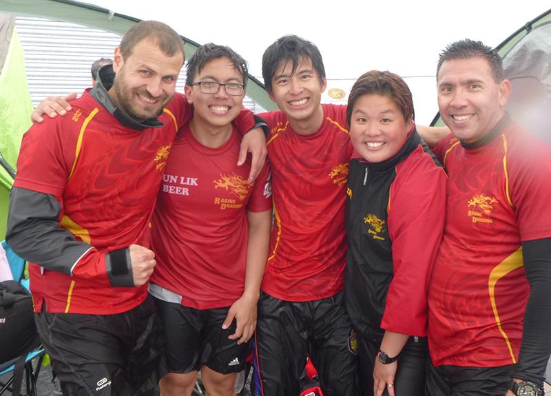 Five wet Ragers